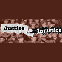 Justice and Injustice in American logo
