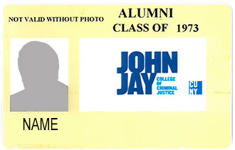 Sample of Alumni Card