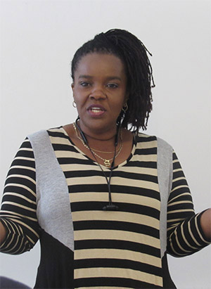 Malaine Clarke, Food Bank Manager and Director of Health Services