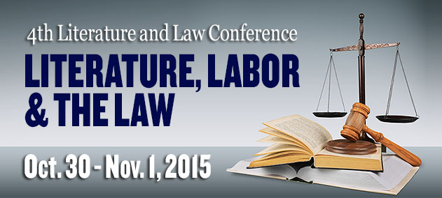2015 Literature and Law Conference logo