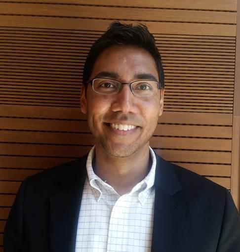 Assistant Director of Sponsored Programs Amrish Sugrim-Singh