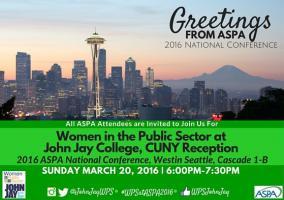 ASPA 2016 Conference Flyer