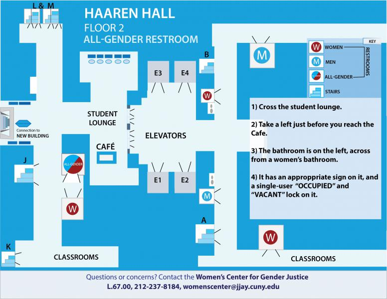 Haaren Hall, All Gender Restroom