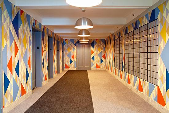New Yorker housing Hallway