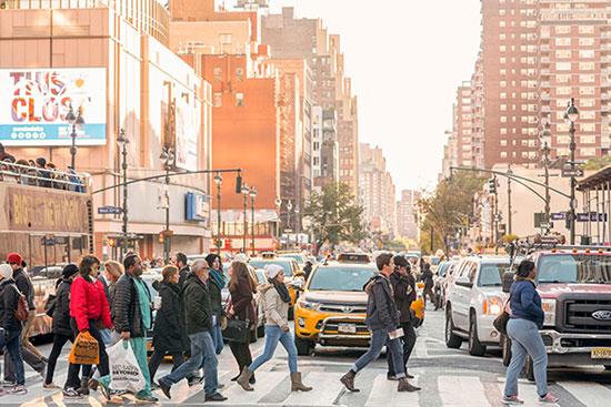 Street of New York City