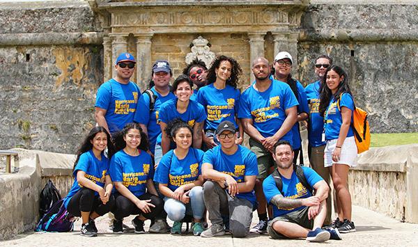 John Jay students in Puerto Rico
