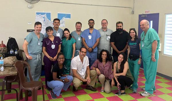 Professor Jodie Roure Provides Relief in Puerto Rico