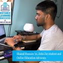 Shazad Hussain '21 Discovers a Supportive Online Learning Environment