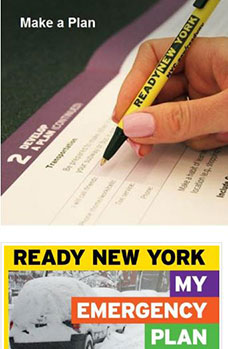 Make a Plan. Ready New York My Emergency Plan