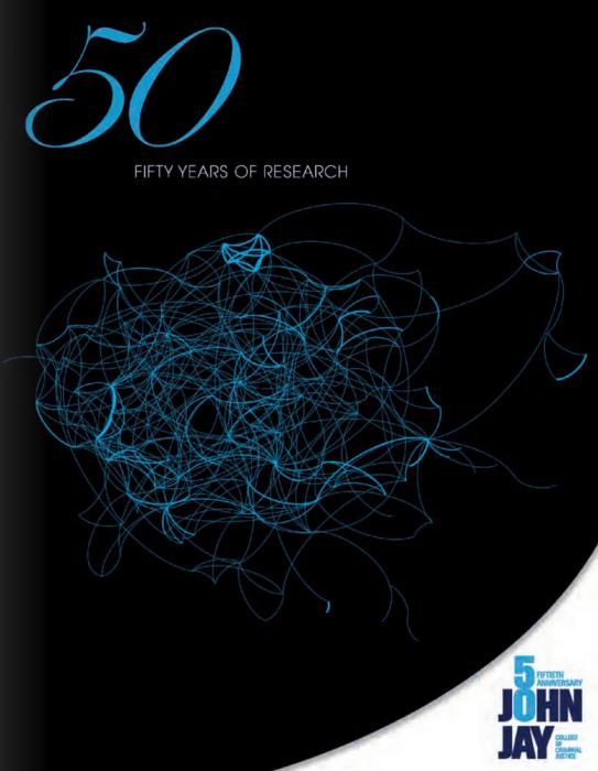 Cover of the publication Celebrating 50 Years of Research by John Jay