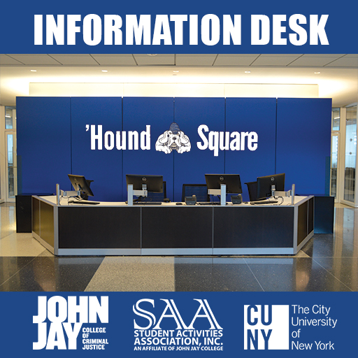Picture of Information Desk at John Jay College