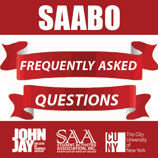Student Activities Association Business Office flyer for Frequently Asked questions