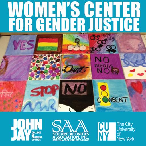 Womens Center for Gender Justice flyer
