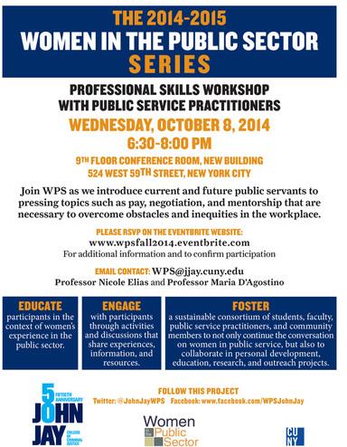 Professional Skills Workshop Flyer